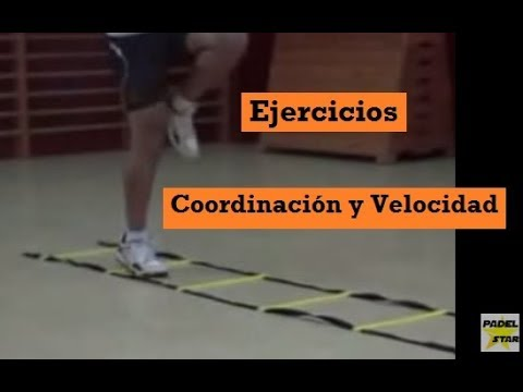 Ejercicios En Circuito Y Coordinacion : VÍdeo ejercicios de coordinaciÓn y velocidad padelstar