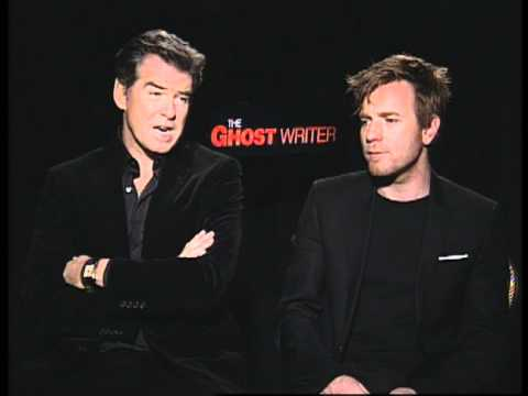 The Ghost Writer - Exclusive: Pierce Brosnan and Ewan McGregor
