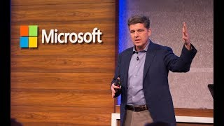 Microsoft Business Forward 2018 keynote | James Phillips on Digital Transformation with the Cloud