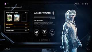 All hero glitches in star wars battlefront II
