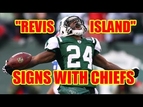 DARRELLE REVIS SIGNS WITH THE CHIEFS! My quick thoughts...