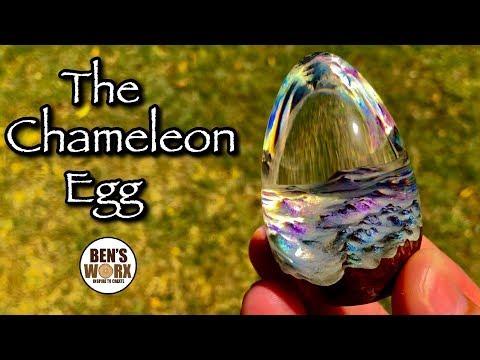 Making a Chameleon Egg - ASMR style