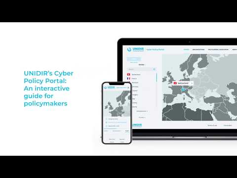 Introducing the UNIDIR Cyber Policy Portal