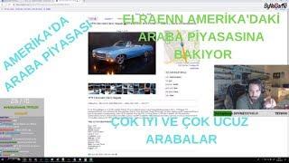 Elraenn - Amerika'daki Araba Fiyatlarına Bakıyor