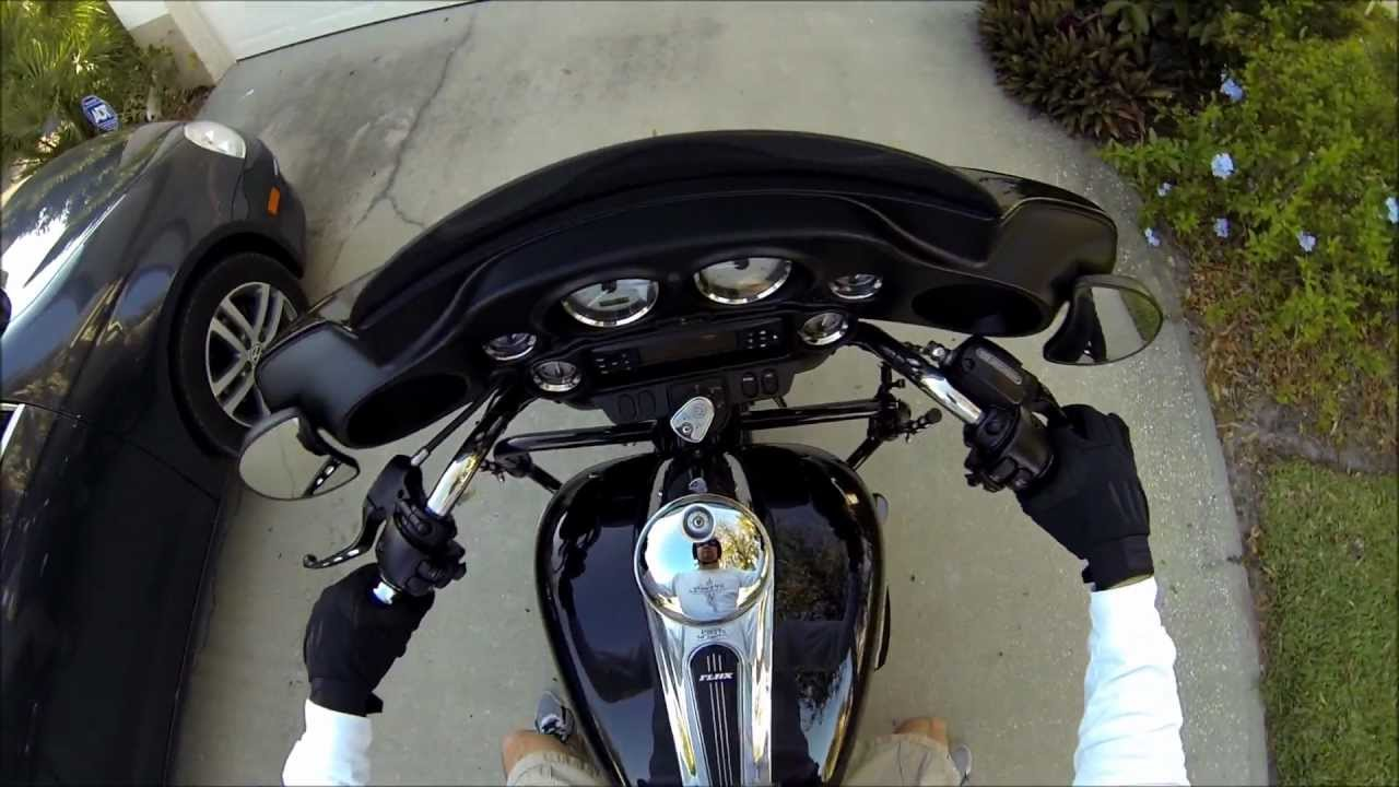 Harley Street Glide >> GoPro Hero3 Black - 2013 Harley Davidson Street Glide - YouTube