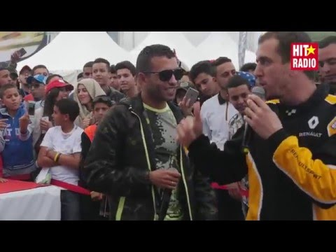 Nayda avec Mister You en direct du Marrakech Grand Prix