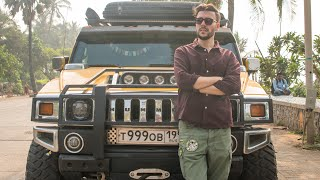 From Russia to India || World Tour in a Hummer H2!