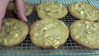 White Chocolate & Macadamia Cookies - Subway Recipe