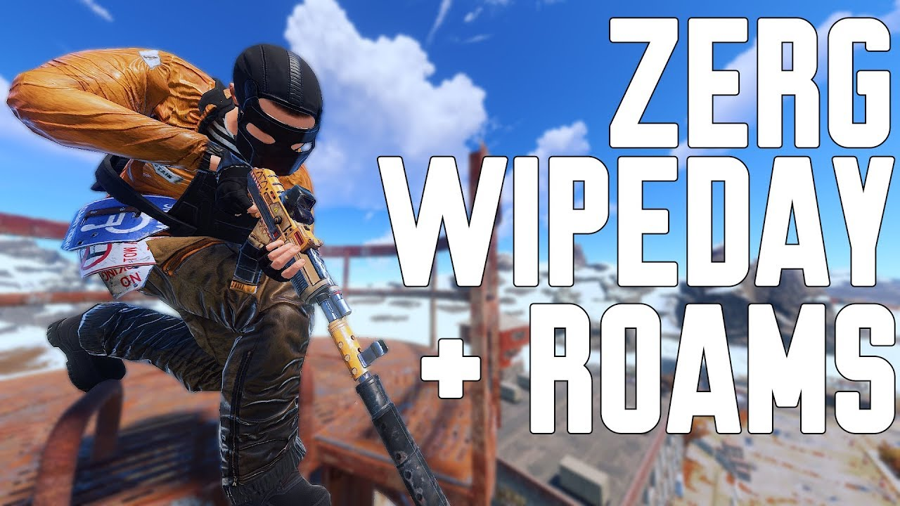 getting RICH on WIPEDAY & roaming vs CLANS! -RUST