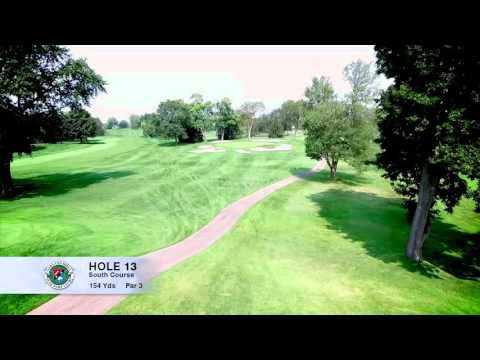 Hole 13 | South Course | Oakland Hills Country Club | Bloomfield Hills, MI