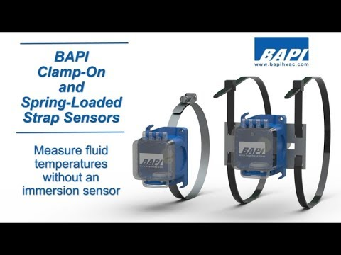 BAPI Clamp and Strap Temperature Sensors Overview