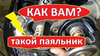 БМВ Е46 замена термостата | Прокачка системы охлаждения бмв Е46 2.2 n54