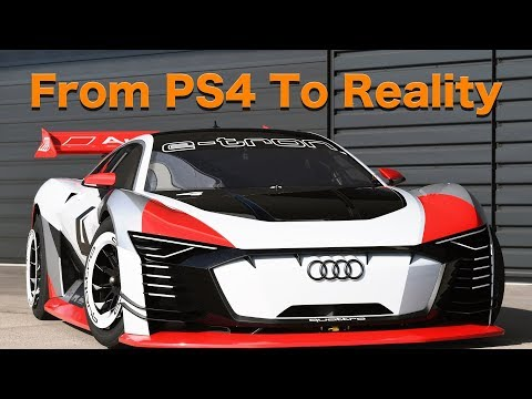 From PS4 To Reality, Audi's e-tron Vision Gran Turismo is Beautiful