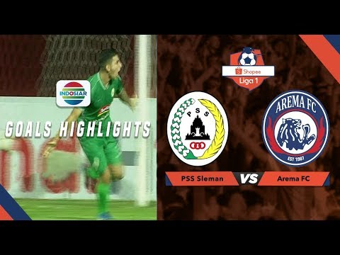 PSS Sleman (3) vs Arema Malang (1) - Goal Highlights | Shopee Liga 1