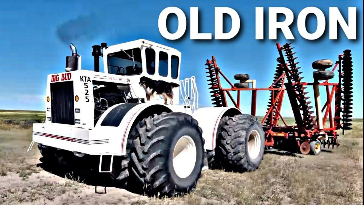 Old IRON Turning DIRT