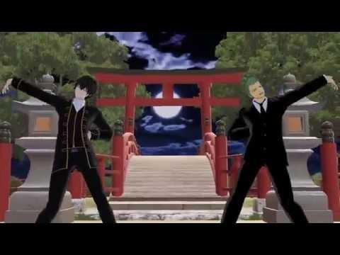 【MMD】土方さんとゾロさんにドーナツホール踊ってもらった