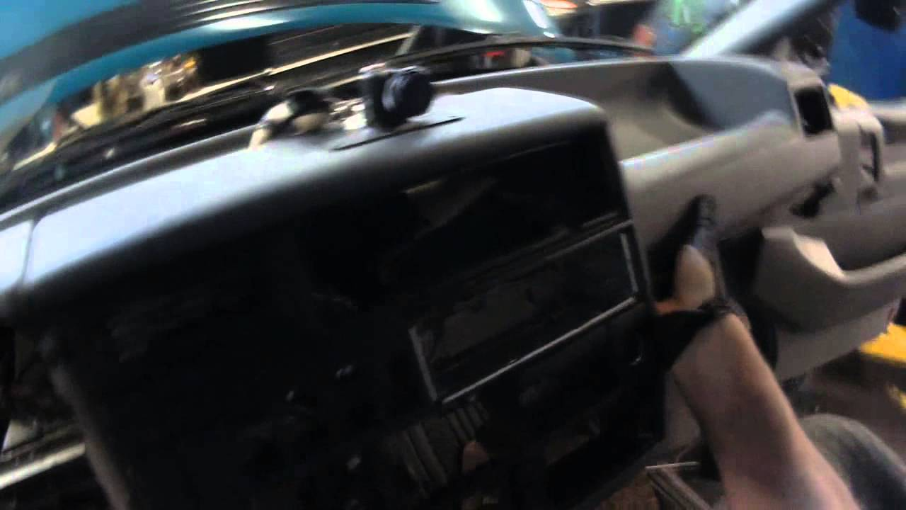 vw t4  eurovan dash removal for heater core access  part 2