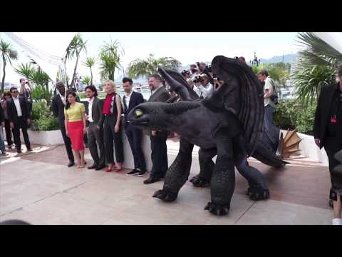 Cast of how to train your dragon 2 at cannes 2014 youtube ccuart Image collections