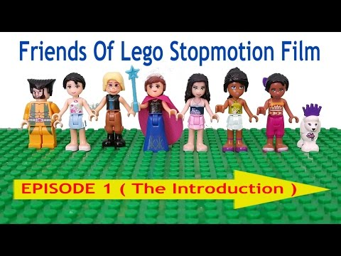 LEGO FRIENDS EPISODES 1 MOVIE film stars ❤PCT TOYS KIDS PLAYING