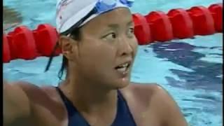 競泳女子自由形400m&800m.