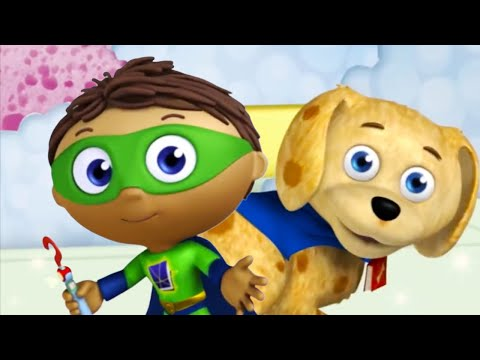 Super WHY! and Webby in Bathland | SuperWHY!
