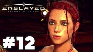 Enslaved Odyssey to the West - Gameplay Walkthrough Part 12 - Chapter 12: The Dam [HD] Xbox 360 PS3