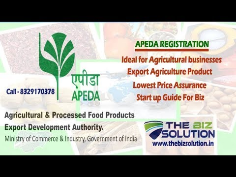 Online Apeda Registration | Export Food & Agri Products | Ap