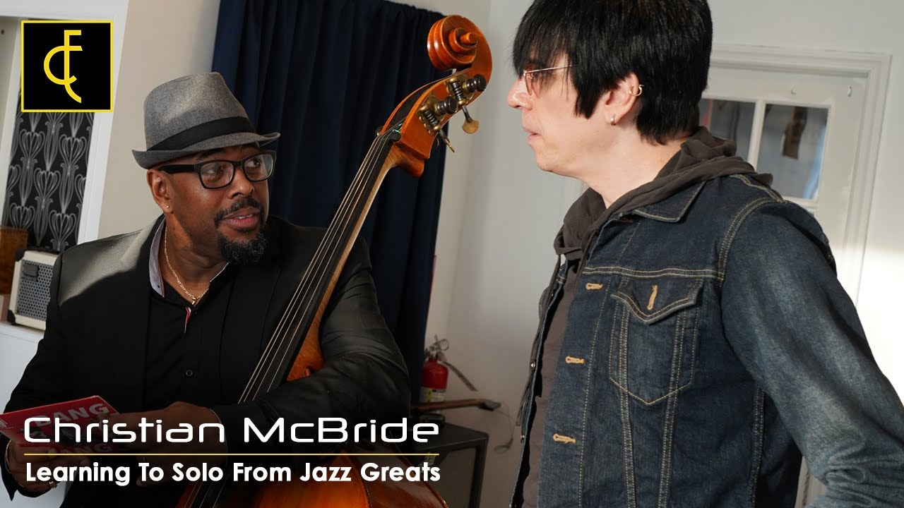 Christian McBride on bass solos and articulation