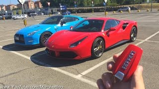 Ferrari 488 GTB in Action - Ride, Rev & Accelerations!