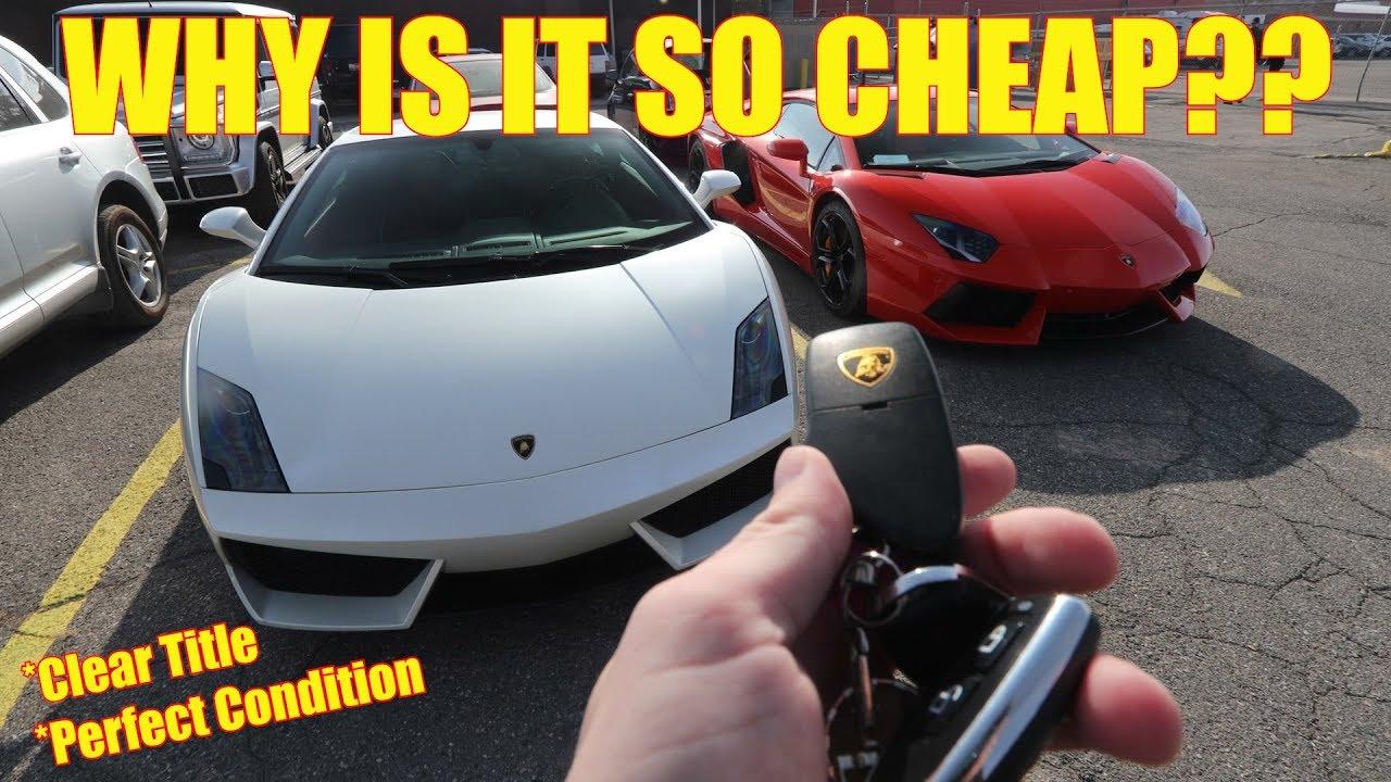 The Cheapest Lamborghini Gallardo Lp560 In The Nation Youtube