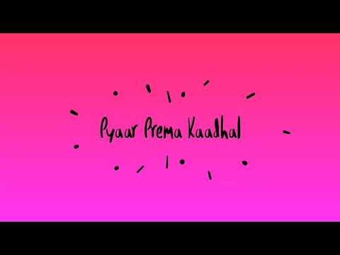 High on love---lyrics (pyaar prema kaadhal)