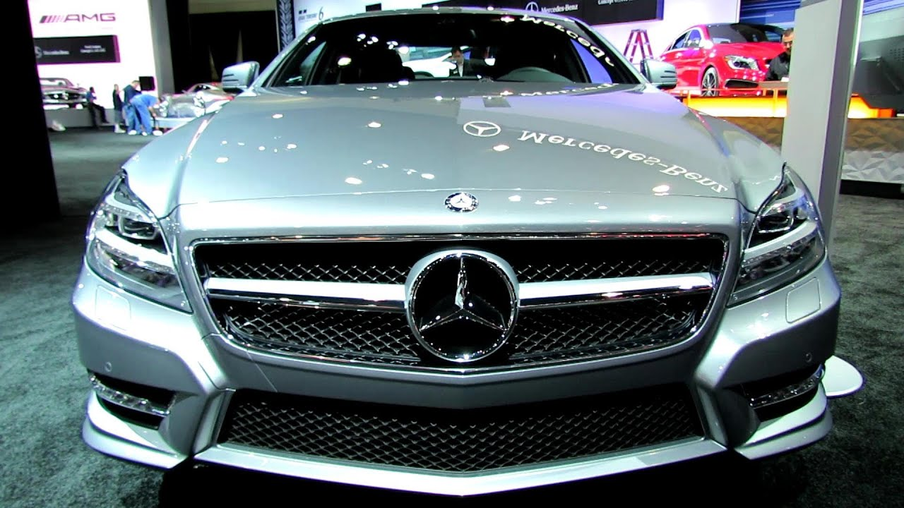 2014 mercedes benz cls class cls550 exterior and interior walkaround 2013 la auto show youtube