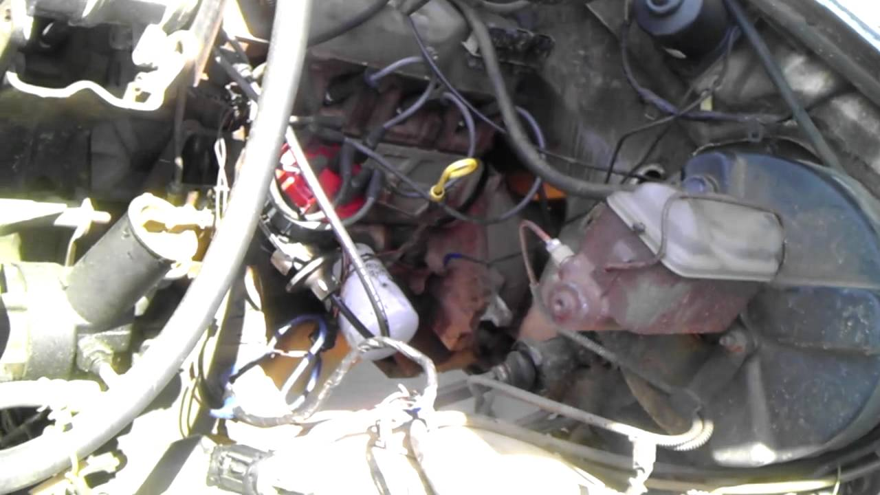 Ford 1 Wire Alternator Wiring 1986 F150 Ignition And Carb Replace Youtube