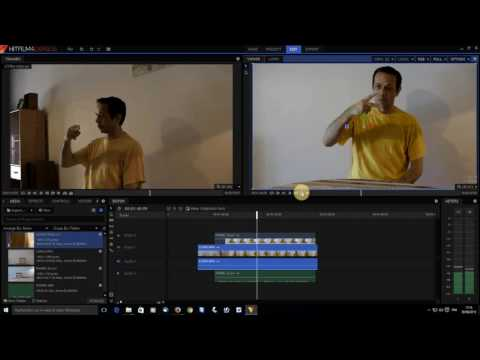How to manually sync videos and sound in Hitfilm