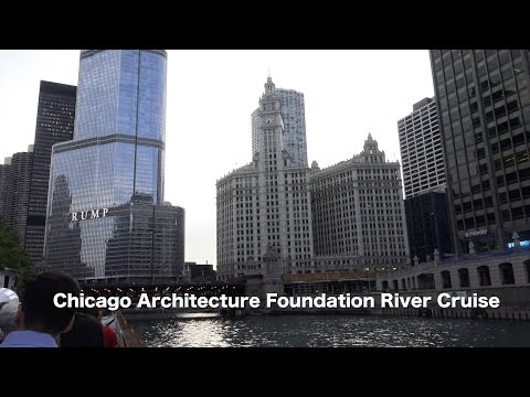 Chicago River Cruise 4K | Traveling Robert