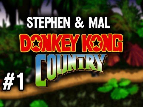 Stephen & Mal: Donkey Kong Country #1