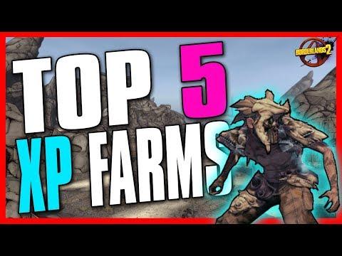 TOP 5 ULTIMATE XP FARMS in Borderlands 2