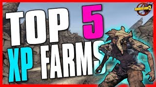 TOP 5 ULTIMATE XP FARMS in Borderlands 2