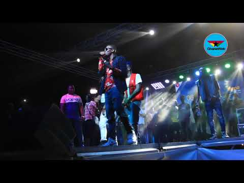 Shatta Wale performs 'Ayoo', 'Taking Over' with Militants at Untamed Energy Concert