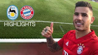 Hernández' Debut at FC Bayern's 23-0 against FC Rottach-Egern | Highlights