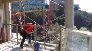 Waterproof Deck Contractor Glass Railings Golden Gate Enterprises Sf Bay Area Glenn Lower Deck