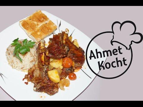 Rezept: Lammkotelett im Ofen | AhmetKocht | kochen | Folge 146
