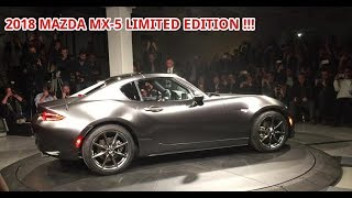 AWESOME !!! 2018 MAZDA MX-5 RF LIMITED EDITION REVIEW (Supercar News)
