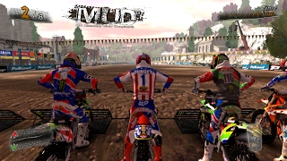 "MUD FIM Motocross World Championship ""Broken Bones"" Pc Windows Games Gameplay Video"
