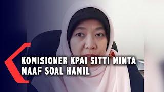 Sempat Kontroversi! Komisioner KPAI Sitti Minta Maaf Soal Hamil