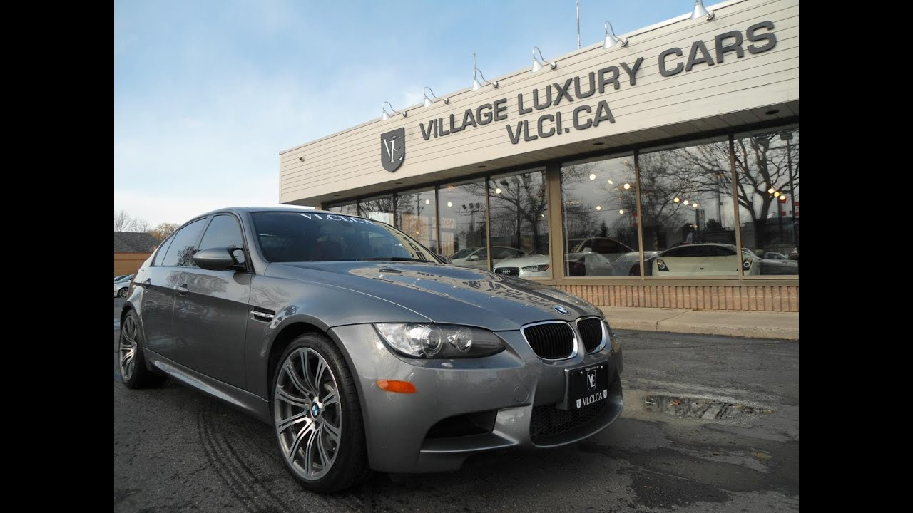 2010 bmw m3 4 door sedan in review village luxury cars toronto [ 1280 x 720 Pixel ]