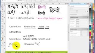 Learn CorelDraw in Hindi -1st Day Tutorials- step 4 of 4 - Artistic Text