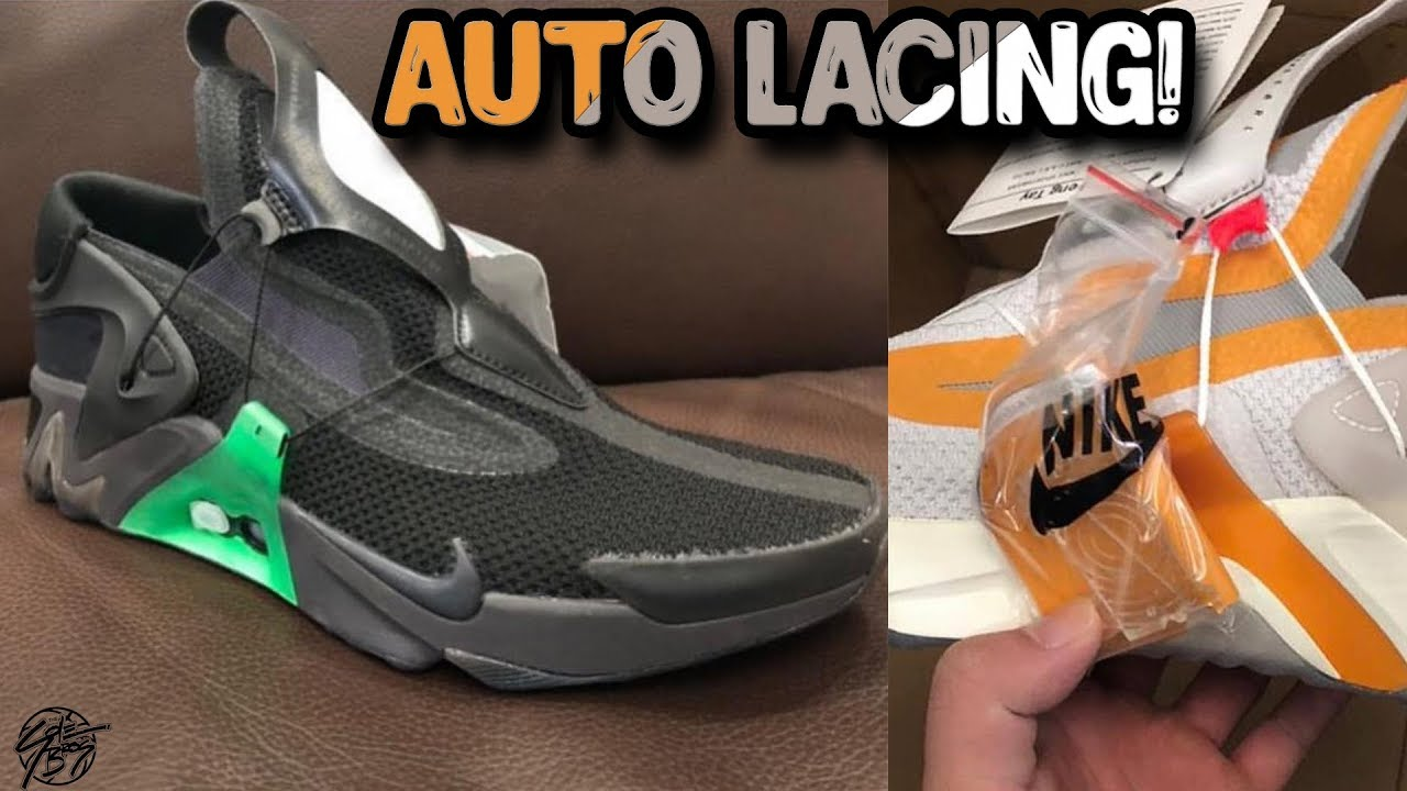 Nike's Making Another Self Lacing Shoe?! Nike E.A.R.L. Rache!