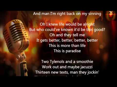 Jeremih - Paradise(lyrics)