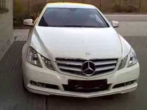 carcompany 2011 mercedes e 220 cdi coupe 39 avantgarde interior youtube. Black Bedroom Furniture Sets. Home Design Ideas